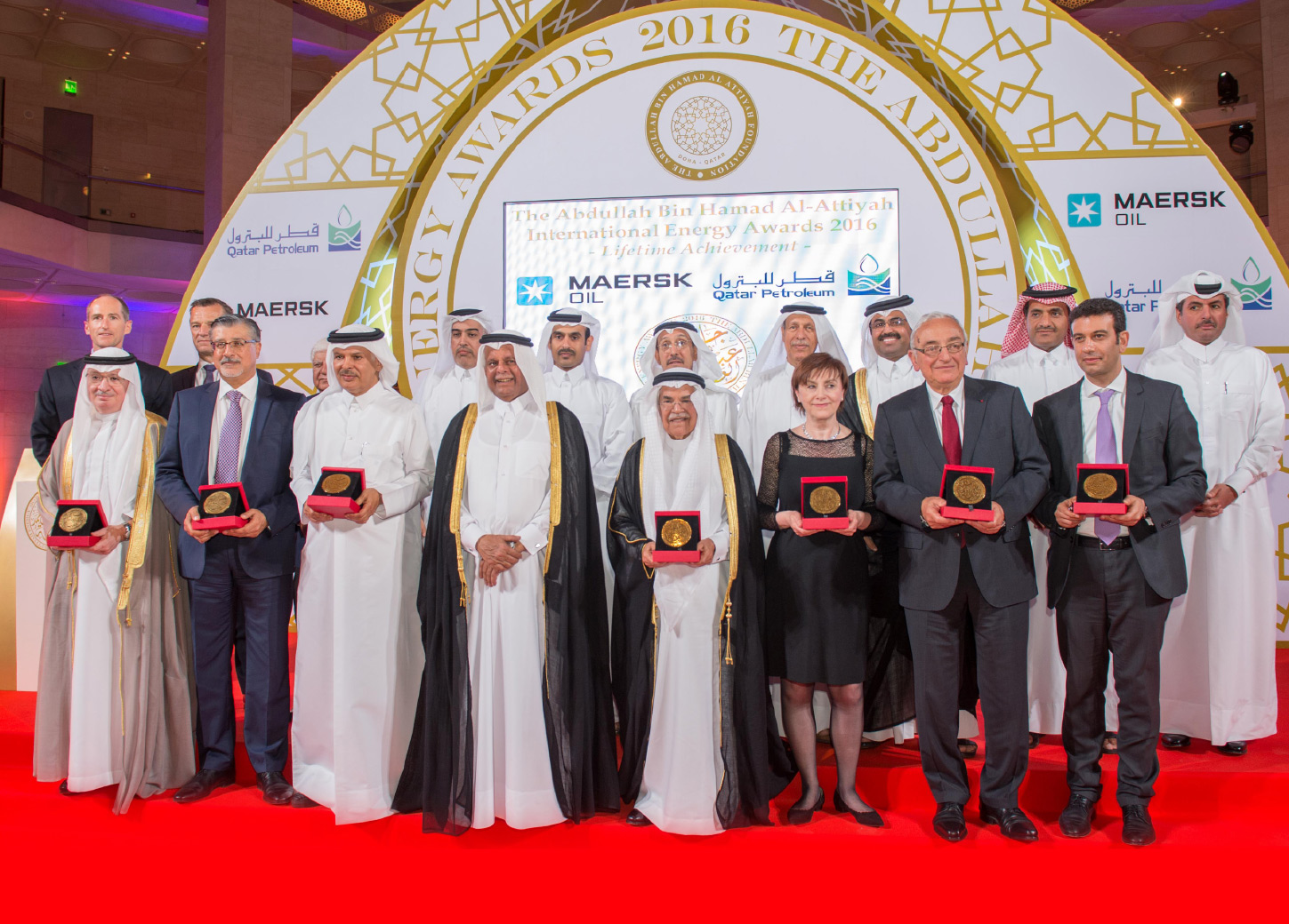 The 2016 Abdullah Bin Hamad Al-Attiyah International Energy Awards